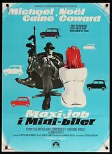 "THE ITALIAN JOB 1969 24""x33"" poster Mini Cooper Michael Caine filmartgallery"