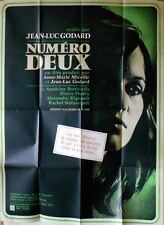NUMERO DEUX French Grande movie poster 47x63JEAN-LUC GODARD 1975 NM