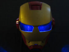 2010 Electronic Talking Iron Man Helmet - Great for Halloween! TESTED + WORKING!