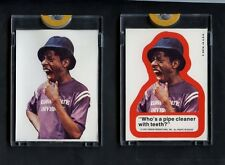 1975 Topps Good Times TV Show (2) Proof Sticker Set Auction #2