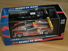 LE MANS AUDI R10 WINNER 2008 KRISTENSEN CAPELLO McNISH 1/43 MINICHAMPS
