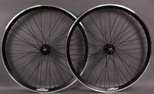 Velocity Black Chukker Polo Bike Fixed Gear Wheelset 48 Hole Wheels MSW FX/FX