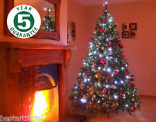 Best Artificial Premium 6ft Hinged Christmas Tree Indoor Realistic 100% PE Tips