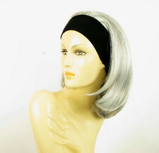 headband wig short gray ref: mady 51
