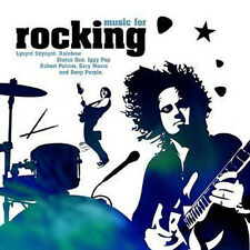 ROCKING ~ ROCK HITS FROM THE 60's 70's 80's CD Rainbow,Free,Rush,Dio,Quo +More