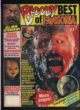 Bloody Best of Fangoira # 10 1991 Darkman Re-Animator Living Dead Chucky  MBX59