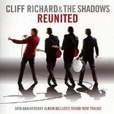 """CLIFF RICHARD & THE SHADOWS """"REUNITED"""" CD 50TH ANN. NEU"""