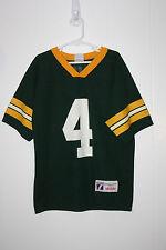 Vintage Logo 7 Green Bay Packers Brett Favre Jersey Youth Medium