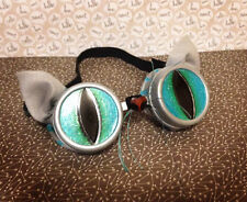 STEAMPUNK Goggles ComicCon Cheshire Cat Costume Burning Man Alice in Wonderland