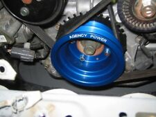 Agency Power AP-RX8-130BL Underdriven Crank Pulley Aluminum-Blue fit Mazda RX-8