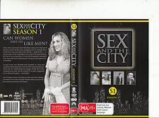 Sex And The City-1998/2004-TV Series USA-Season 1/2 Disc-DVD