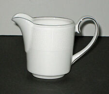 Vera Wang by Wedgwood IVORY TRELLIS CREAMER -new- made in England