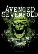 "AVENGED SEVENFOLD AUFKLEBER / STICKER # 18 ""WELCOME TO THE PARTY"""