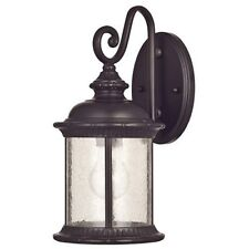 Westinghouse 6230600 New Haven One-Light Exterior Wall Lantern, Bronze Finish