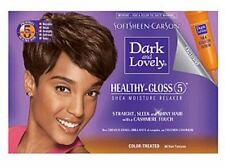 Dark and Lovely No-Lye Relaxer, For Color Treated Hair 1 kit (Pack of 5)