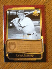 Richie Ashburn 2003 SP Legendary Cuts Etched in Time 175/300 ET-RA
