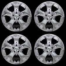 "4 New 2011-2014 Ford Edge SEL SE 18"" Chrome Wheel Skins Hub Caps Full Rim Covers"