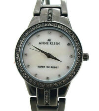 ANNE KLEIN WOMEN'S CRYSTALS WATCH MOTHER OF PEARL DIAL 8479MPGY Retail $75