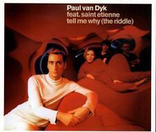 Paul Van Dyk - Tell Me Why (The Riddle) (3 trk CD/ Listen)