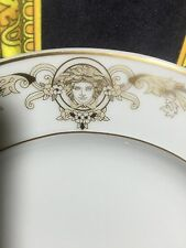 VERSACE MEDUSA GOLD PLATE ROSENTHAL NEW IN BOX 22cm SALE