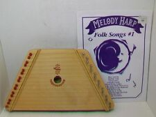 Wooden Lap 15 String Harp Nepenenoyks with 12 Songs  Musical Instrument