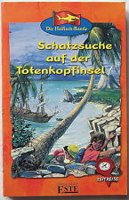 Schatzsuche auf der Totenkopfinsel - Die Haifisch-Bande ZEITREISE  Verlag ESTE