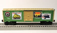 Lionel O Scale 75th Anniversary Green Famous Catalogs Reefer Car #6-7506 in Box