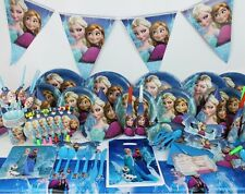 107 PCS Frozen Party Supplies Pack Girl Birthday Queen Elsa Anna Disney