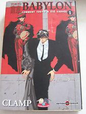 MANGAS TOKYO BABYLON  N° 1 .