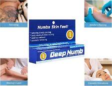 10g Deep Numb skin numb numbing cream painless piercings waxing laser Dr