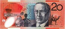 2013 Australia Stevens/Parkinson $20 Polymer Banknote - Uncirculated