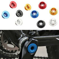 Anodized Arm Fixing Bolt Bike Bicycle Crank Chainset Screw Axis For Shimano JX