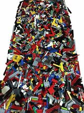 4 POUNDS Estimated 2000 Lego Pieces LOT- WITH MINIFIGURES *Washed and Sanitized*
