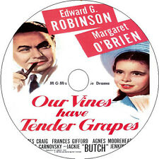 Our Vines Have Tender Grapes DVD Edward G. Robinson Margaret O'Brien Rare 1945