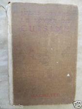 LIVRE RARE : LE LIVRE DE LA CUISINE JULES GOUFFE 1902 HACHETTE