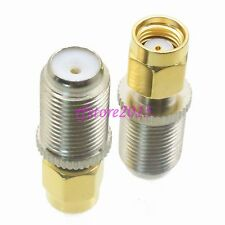 1pce Adapter Connector F TV female jack to RP-SMA male jack for Wifi antenna