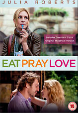 EAT PRAY LOVE - DVD - REGION 2 UK