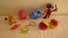 Lot of Misc. Child Toys Toy Little Tykes Hippo Pirate Winnie the Pooh