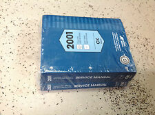 2001 Chevrolet Chevy GMC SIERRA TRUCK 3500 HD CHASSIS Service Repair Manual SET