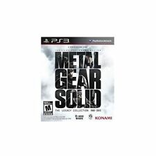 Metal Gear Solid: The Legacy Collection  (Sony Playstation 3, 2013) COMPLETE PS3