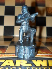 Black 2005 STAR WARS Saga Replacement Chess Piece Imperial Stormtrooper Pawn