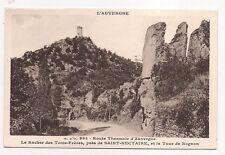 eroute thermale d'auvergne  le rocher des trois-frères ,près de saint-nectaire