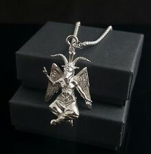Church of Satan BAPHOMET Pendant Necklace 316L Stainless w/ Chain