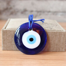 D6cm Turkish Blue Glass Evil Eye Lucky Wall Car Office Home Amulet Decoration