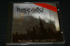 "ROTTING CHRIST ""PASSAGE TO ARCTURO"" 1ST PERSS CD 1993 GREEK DECAPITATED RECS RAR"