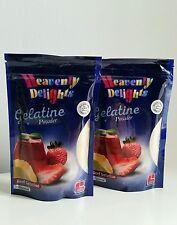 Halal Gélatine Poudre 200g Sans saveur Boeuf gélatine HMC certifié Argent Grade