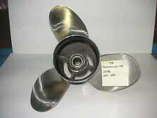 Mercury Quicksilver Stainless Steel Propeller 48-11078A40 25P RH Laser