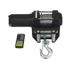 Grip Tools 3000 lb 12 Volt Electric ATV Winch with Remote Truck Tractor 28770