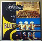 101 STRINGS Play the Blues LP OOP 60's mono easy-pop