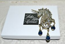 "New $150 HEIDI DAUS ""Untamed Beauty"" UNICORN Pin Brooch SWAROVSKI Crystals"